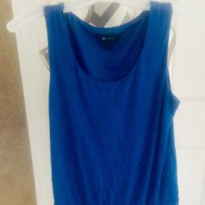 Barely used nice Blue tank top